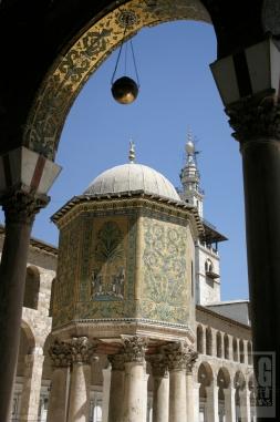 Exterior Courtyard Umayyad Mosque