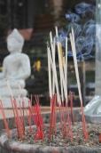 Thai Incense and Buddha
