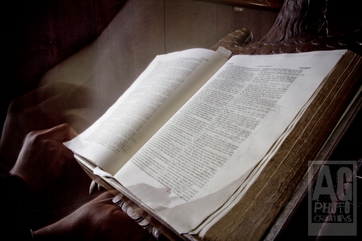 Historic Bible Waimate North New Zealand