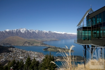 Queenstown from Skyline