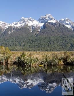 Mirror Lake Fiordland National Park