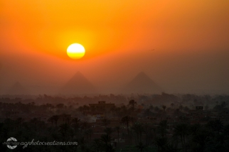 The Great Pyramids of Giza Cairo Egypt
