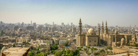 View from Cairo Citadel