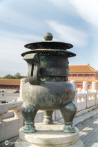 Close Up of Forbidden City Incense Burner, Beijing China