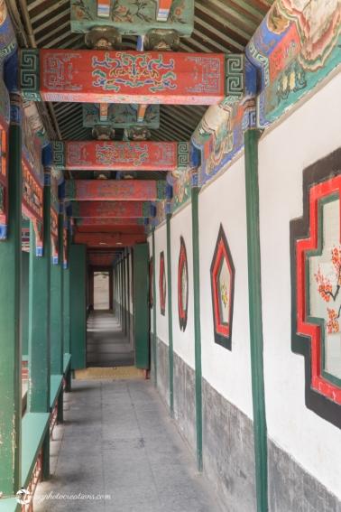 Artistic Corridor at the Summer Palace Beijing China