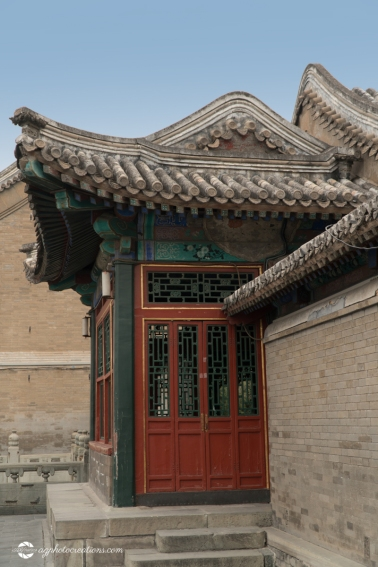 Close Up of Architecture at the Summer Palace in Beijing China